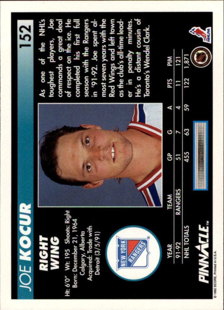 1992-93-Pinnacle-American-HK-039-s-1-210-You-Pick-Buy-10-cards-FREE-SHIP miniature 297