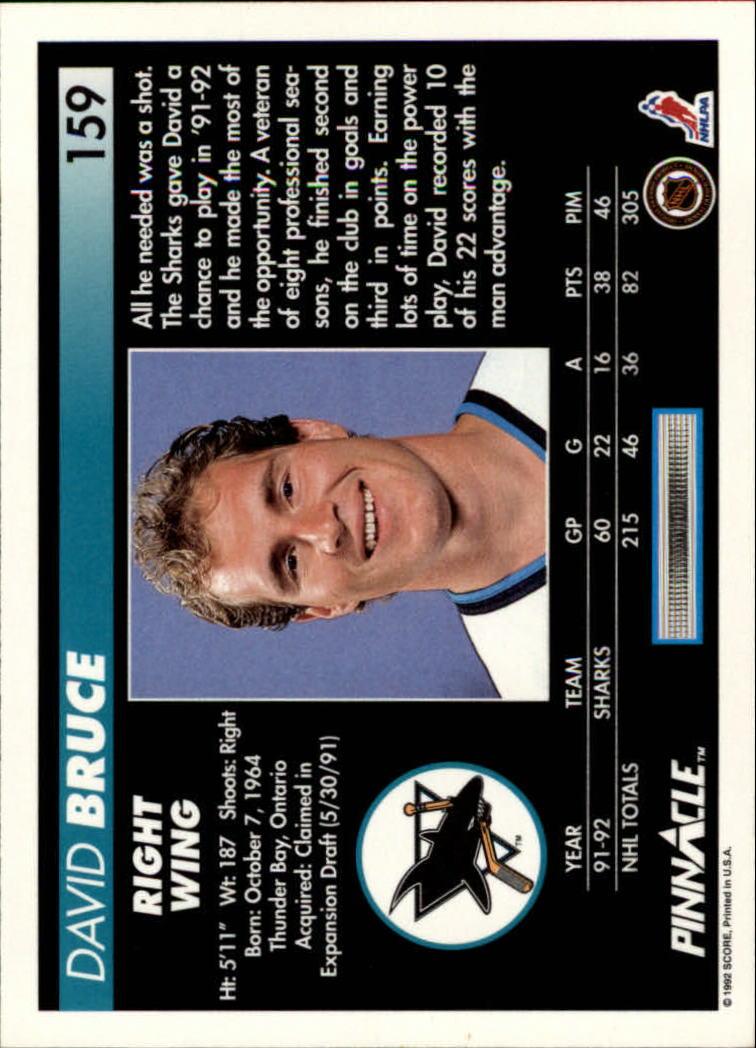 1992-93-Pinnacle-American-HK-039-s-1-210-You-Pick-Buy-10-cards-FREE-SHIP miniature 309