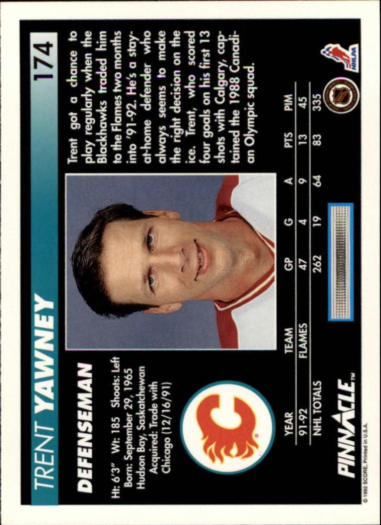 1992-93-Pinnacle-American-HK-039-s-1-210-You-Pick-Buy-10-cards-FREE-SHIP miniature 339
