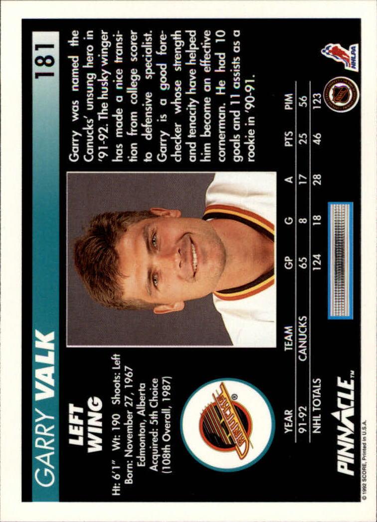 1992-93-Pinnacle-American-HK-039-s-1-210-You-Pick-Buy-10-cards-FREE-SHIP miniature 353