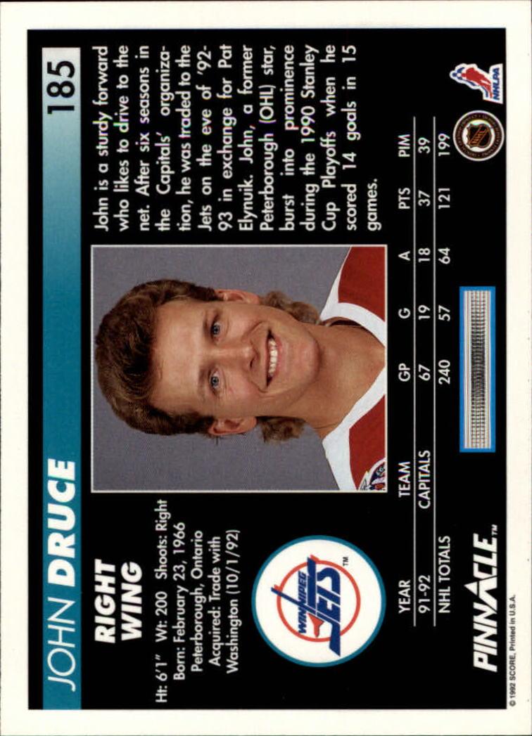 1992-93-Pinnacle-American-HK-039-s-1-210-You-Pick-Buy-10-cards-FREE-SHIP miniature 361