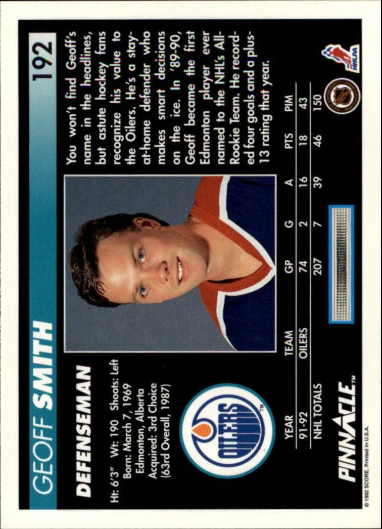 1992-93-Pinnacle-American-HK-039-s-1-210-You-Pick-Buy-10-cards-FREE-SHIP miniature 375