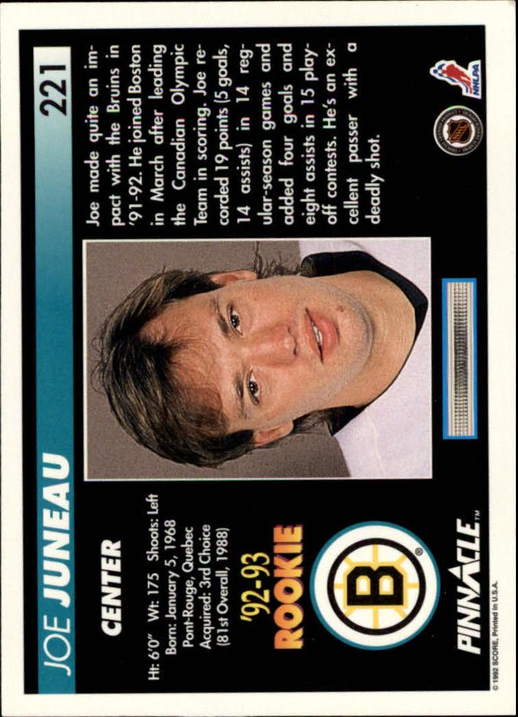 1992-93-Pinnacle-American-HK-039-s-1-210-You-Pick-Buy-10-cards-FREE-SHIP miniature 431