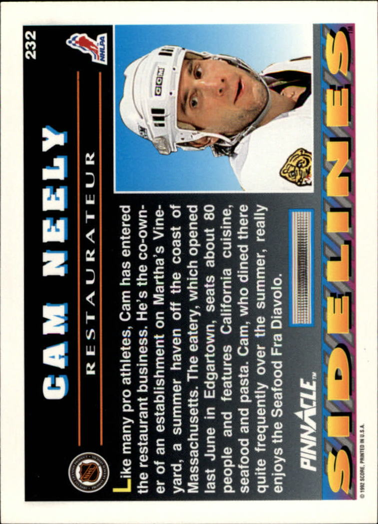 1992-93-Pinnacle-American-HK-039-s-1-210-You-Pick-Buy-10-cards-FREE-SHIP miniature 453