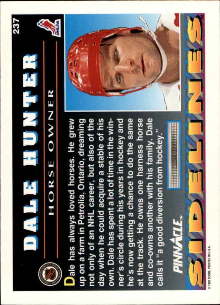 1992-93-Pinnacle-American-HK-039-s-1-210-You-Pick-Buy-10-cards-FREE-SHIP miniature 463