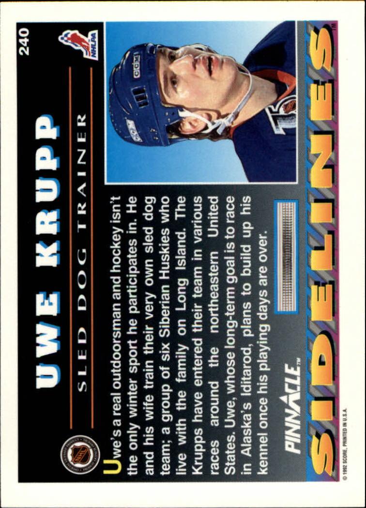 1992-93-Pinnacle-American-HK-039-s-1-210-You-Pick-Buy-10-cards-FREE-SHIP miniature 469