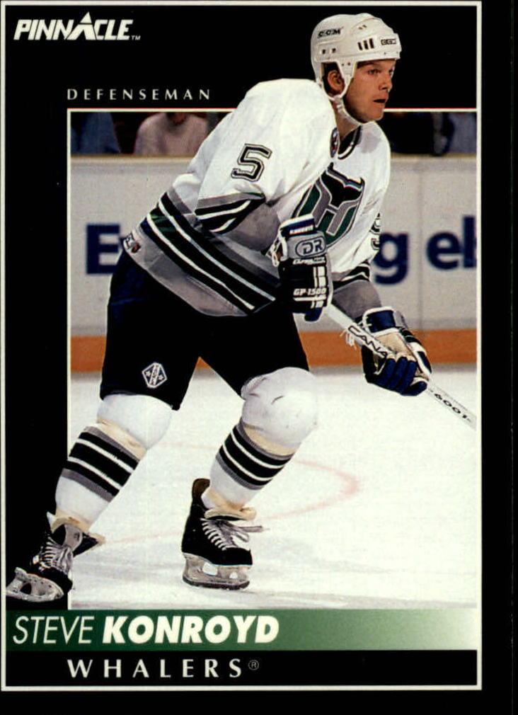 1992-93 Pinnacle #352 Steve Konroyd