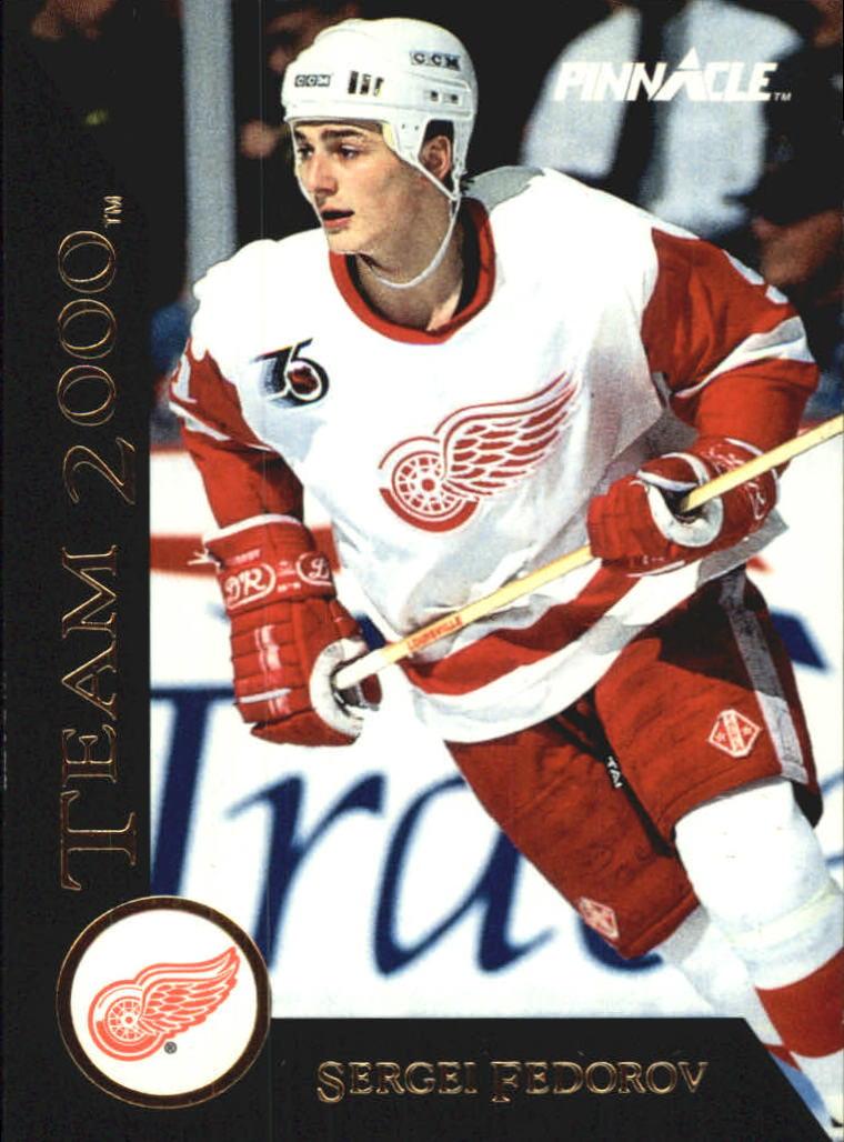 1992-93 Pinnacle Team 2000 #30 Sergei Fedorov