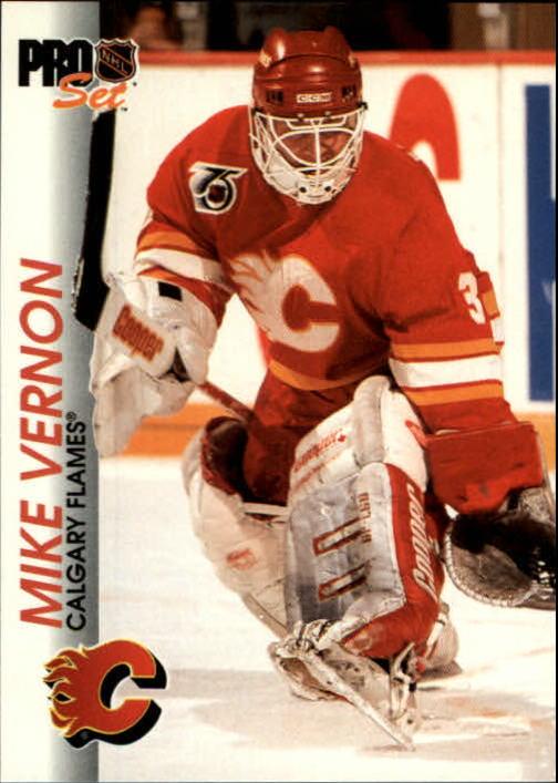 1992-93 Pro Set #25 Mike Vernon