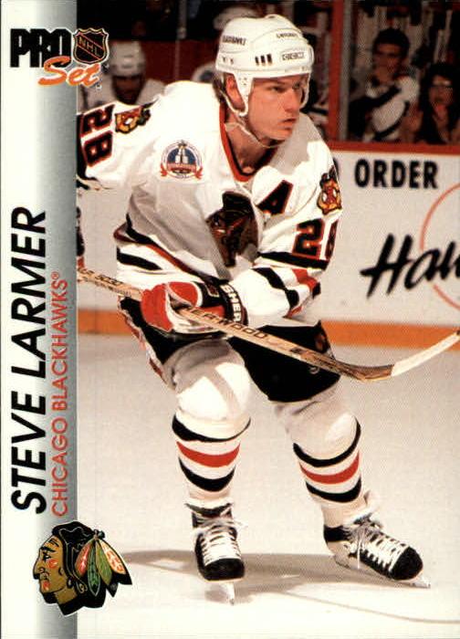 1992-93 Pro Set #31 Steve Larmer