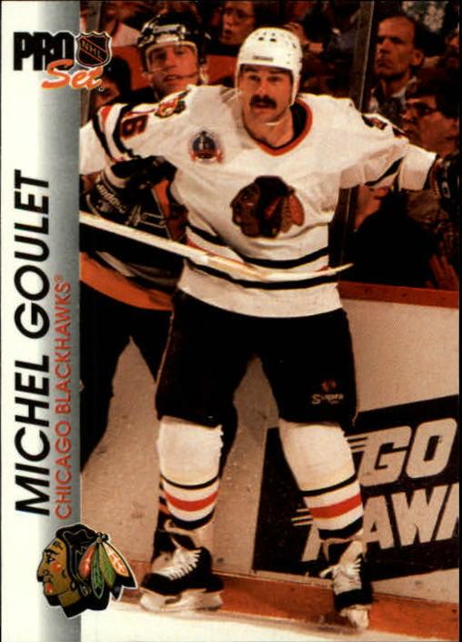 1992-93 Pro Set #32 Michel Goulet