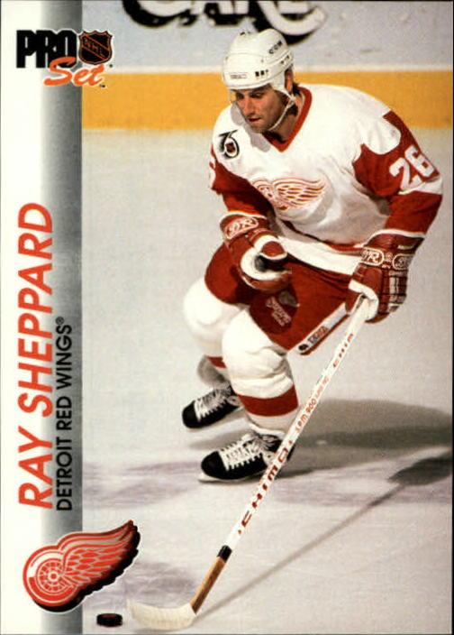 1992-93 Pro Set #47 Ray Sheppard