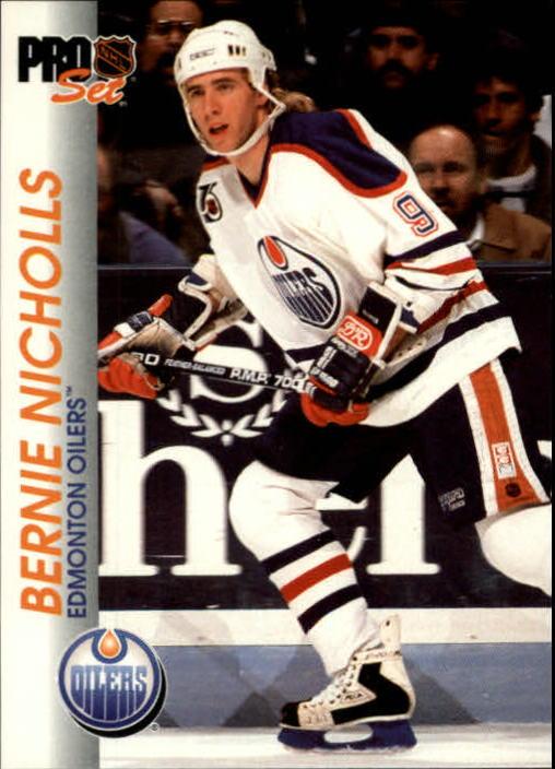 1992-93 Pro Set #52 Bernie Nicholls