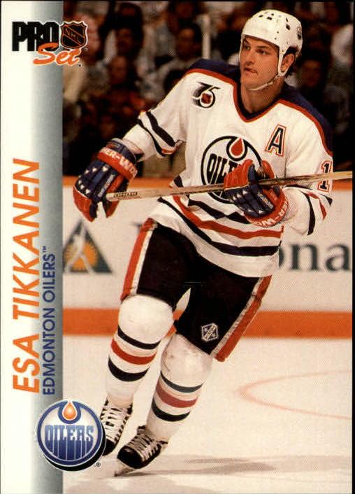 1992-93 Pro Set #53 Esa Tikkanen