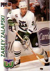 1992-93 Pro Set #59 Zarley Zalapski