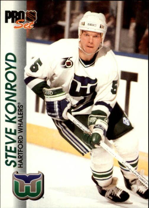 1992-93 Pro Set #62 Steve Konroyd