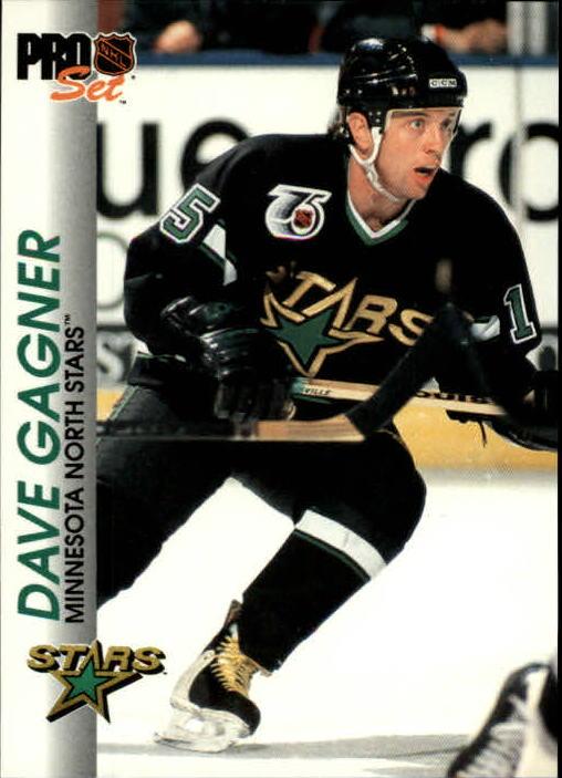 1992-93 Pro Set #77 Dave Gagner
