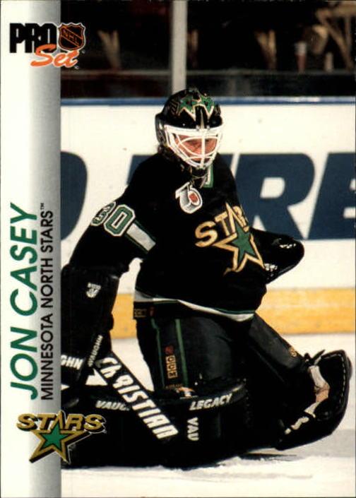 1992-93 Pro Set #82 Jon Casey