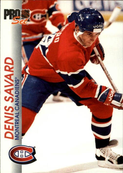 1992-93 Pro Set #84 Denis Savard