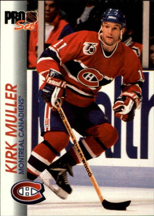 1992-93 Pro Set #87 Kirk Muller
