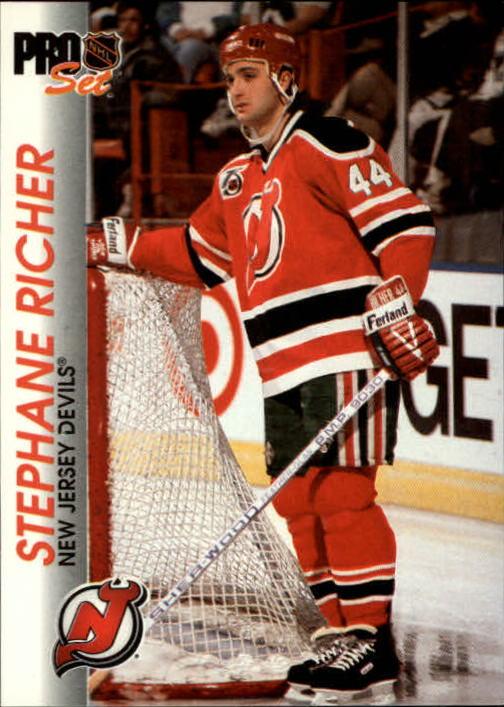 1992-93 Pro Set #93 Stephane Richer