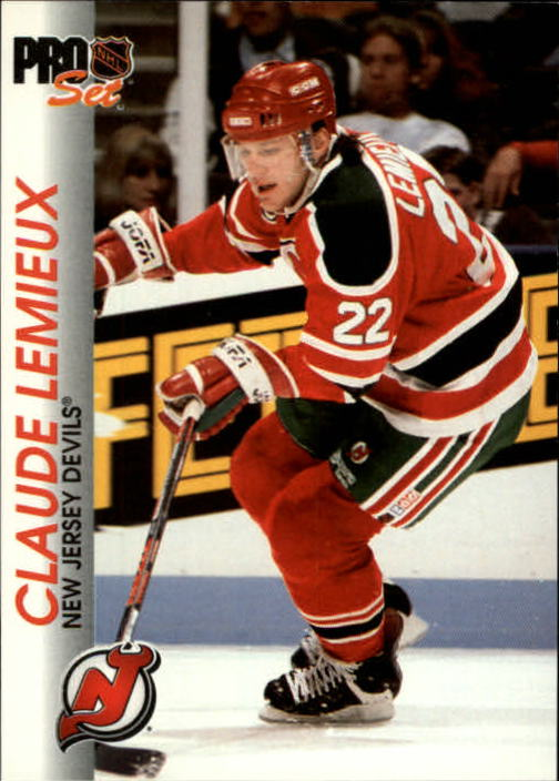 1992-93 Pro Set #98 Claude Lemieux