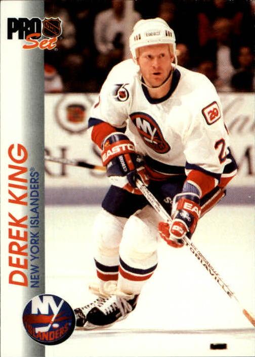 1992-93 Pro Set #110 Derek King