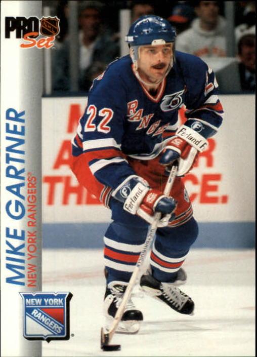 1992-93 Pro Set #113 Mike Gartner