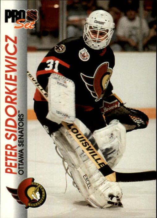 1992-93 Pro Set #125 Peter Sidorkiewicz