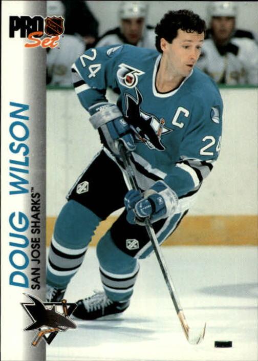 1992-93 Pro Set #165 Doug Wilson