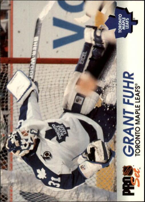 1992-93 Pro Set #183 Grant Fuhr