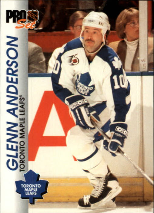 1992-93 Pro Set #185 Glenn Anderson