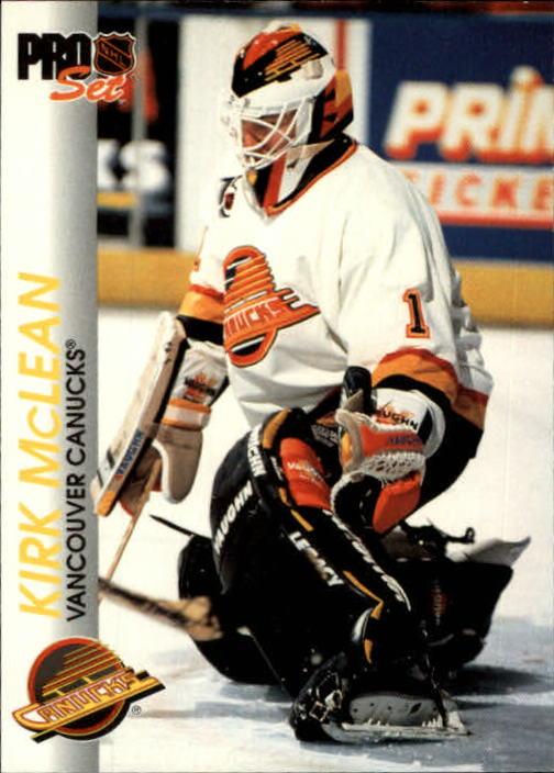 1992-93 Pro Set #193 Kirk McLean