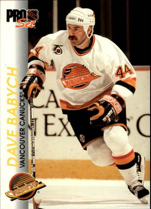 1992-93 Pro Set #200 Dave Babych