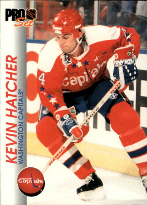 1992-93 Pro Set #204 Kevin Hatcher