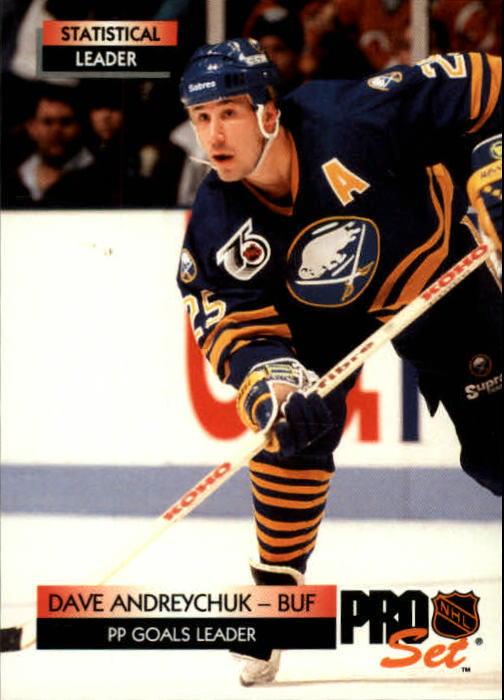 1992-93 Pro Set #249 Dave Andreychuk SL