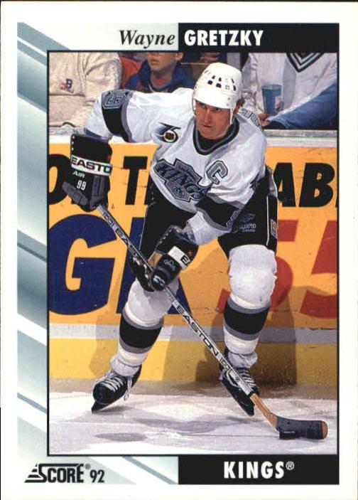 1992-93 Score #1 Wayne Gretzky