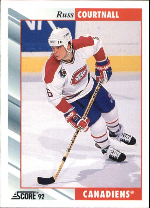 1992-93 Score #4 Russ Courtnall