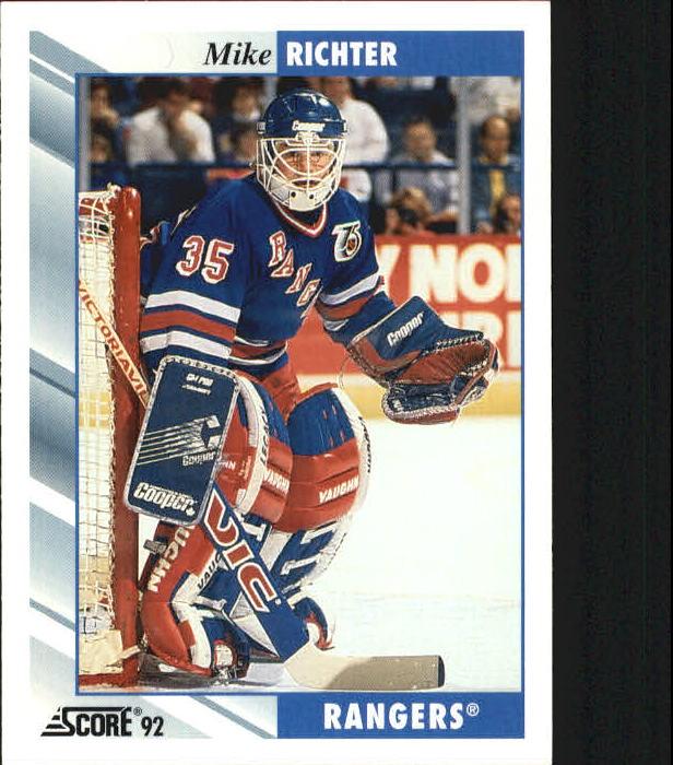 1992-93 Score #5 Mike Richter