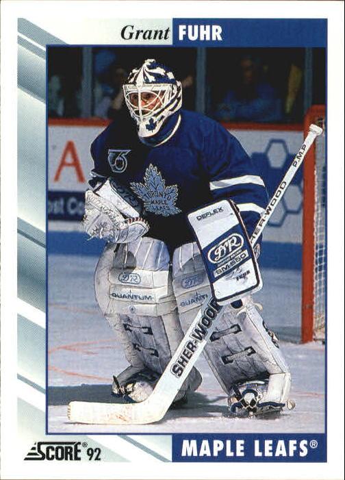 1992-93 Score #20 Grant Fuhr