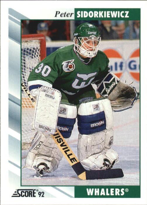 1992-93 Score #41 Peter Sidorkiewicz