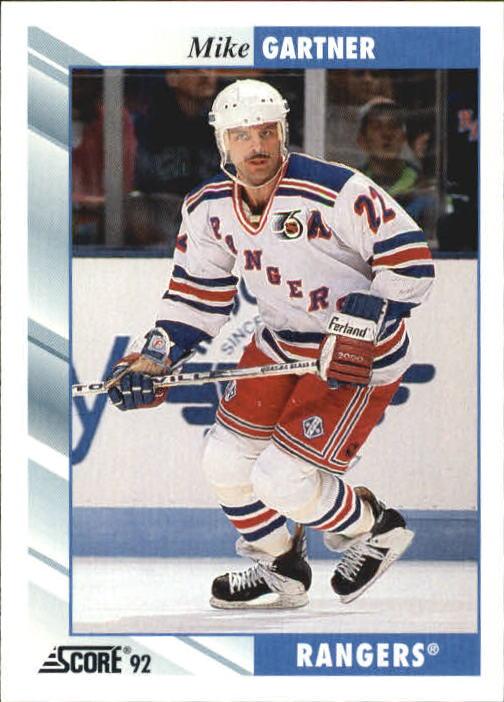 1992-93 Score #50 Mike Gartner
