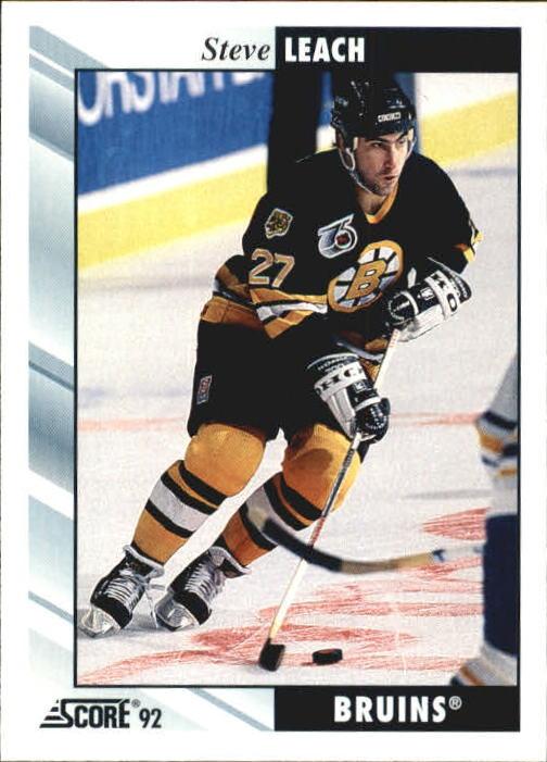 1992-93 Score #54 Steve Leach