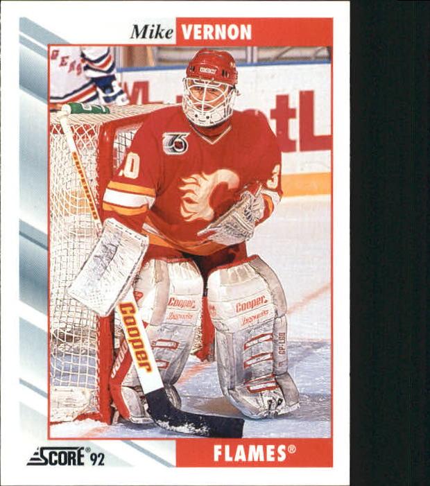 1992-93 Score #60 Mike Vernon