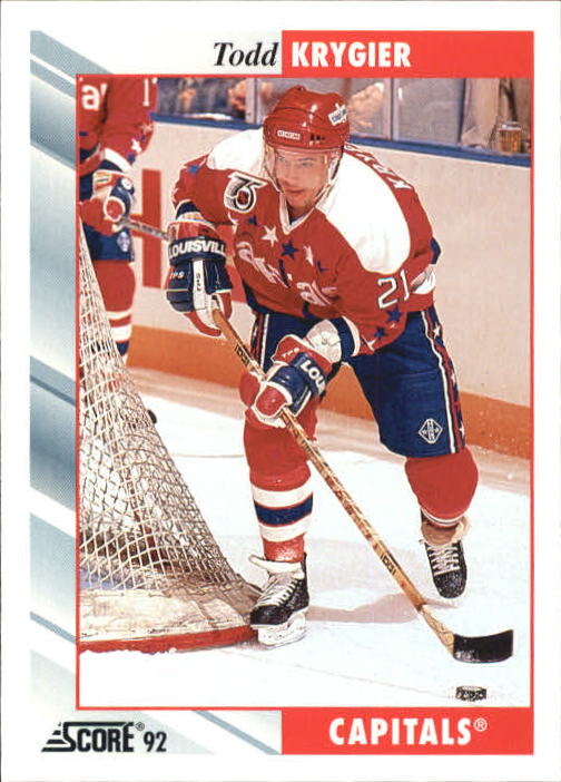 1992-93 Score #98 Todd Krygier