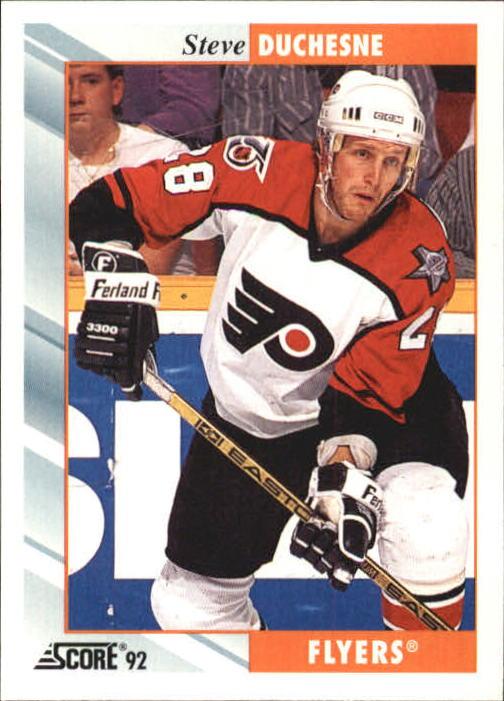 1992-93 Score #151 Steve Duchesne