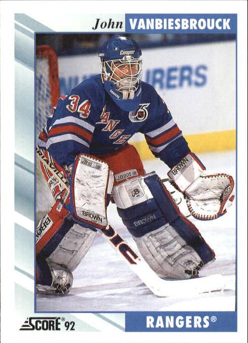 1992-93 Score #160 John Vanbiesbrouck