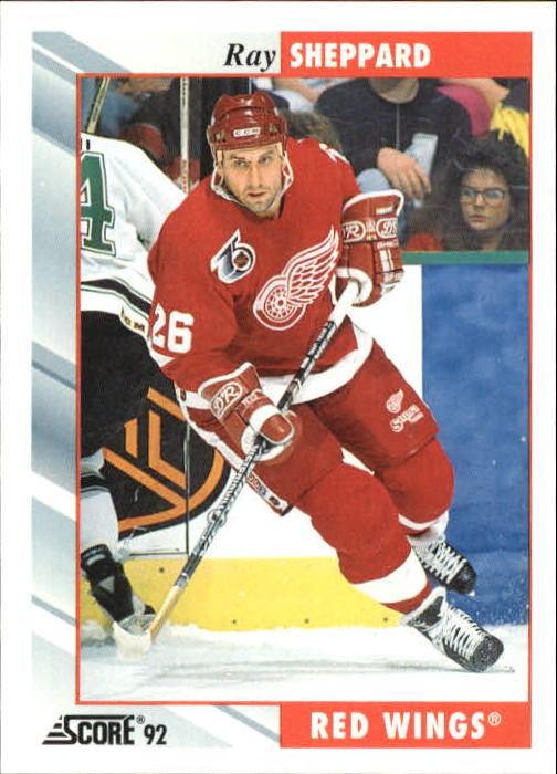 1992-93 Score #163 Ray Sheppard