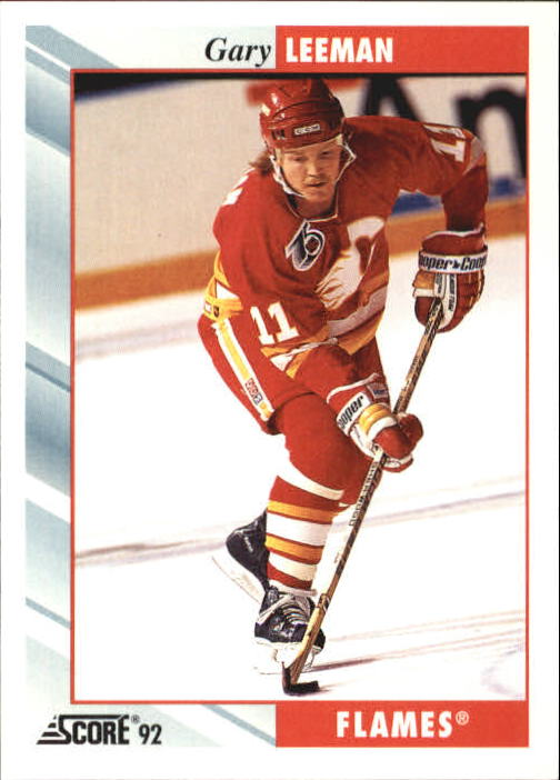 1992-93 Score #171 Gary Leeman