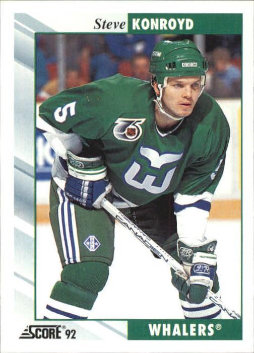 1992-93 Score #172 Steve Konroyd